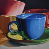 Coffee Time, Oil on Canvas, 30x40